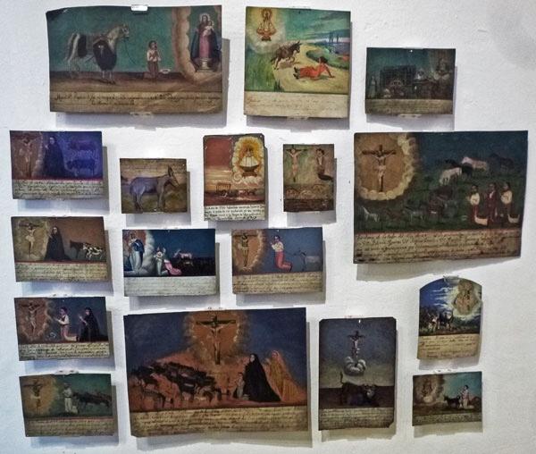 Kahlo's collection of ex-votos